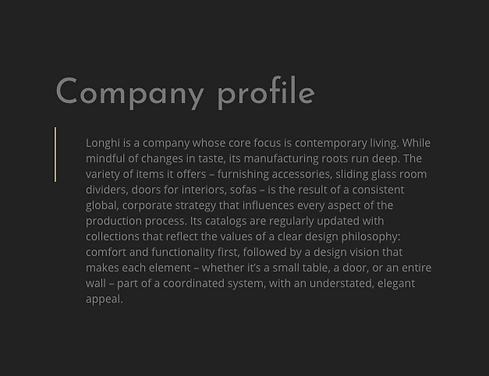Longhi Compamy Profile.png