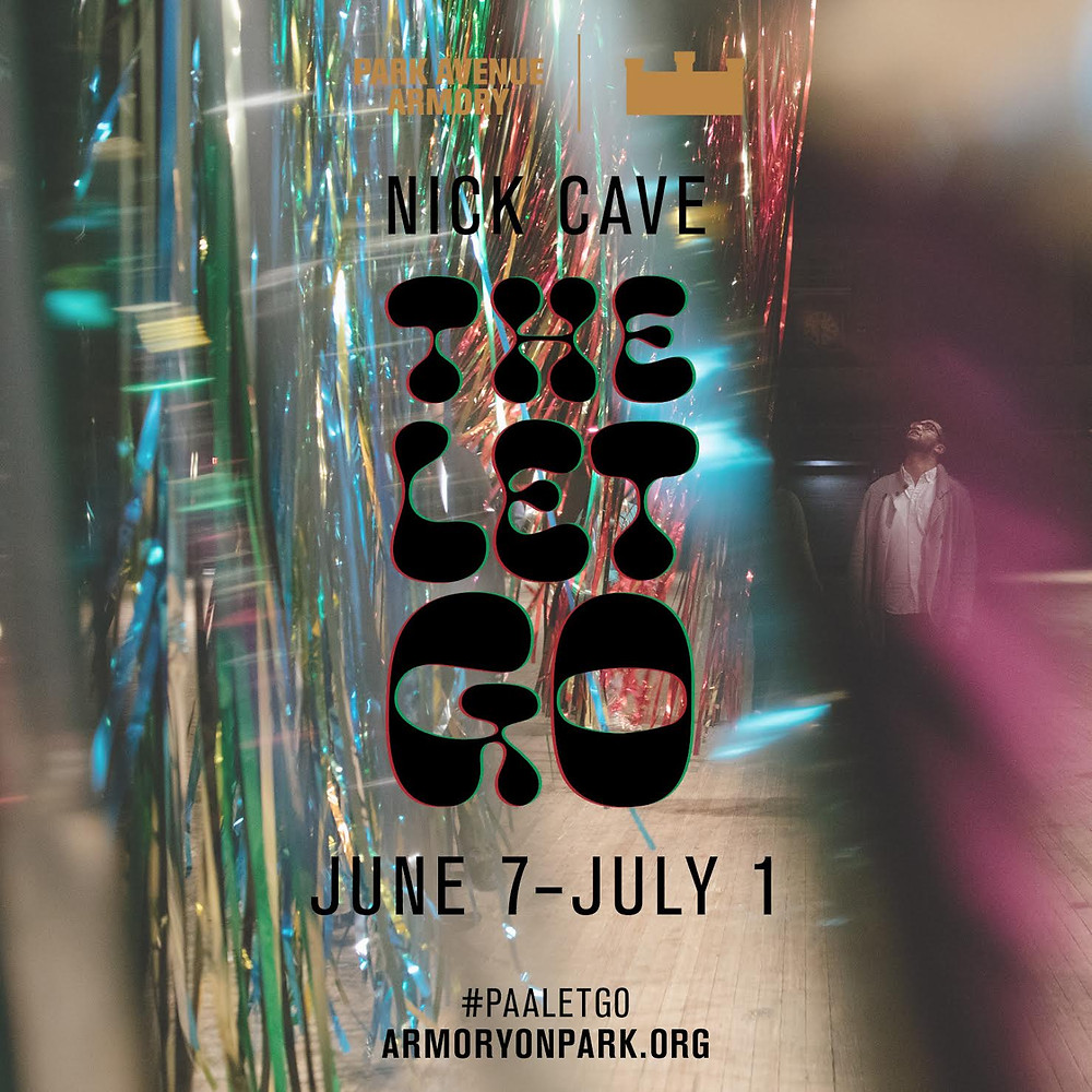 Sunday June 10th at 12:30pm the diamond @ParkAveArmory for #NickCave's #PAALetGo!