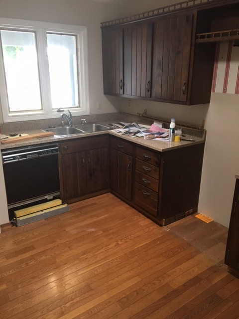 Mequon Contemporary Kitchen - Before