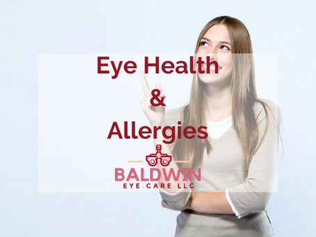 Eye Health & Allergies