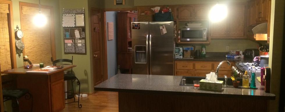 Oak Creek Transitional Kitchen - Before
