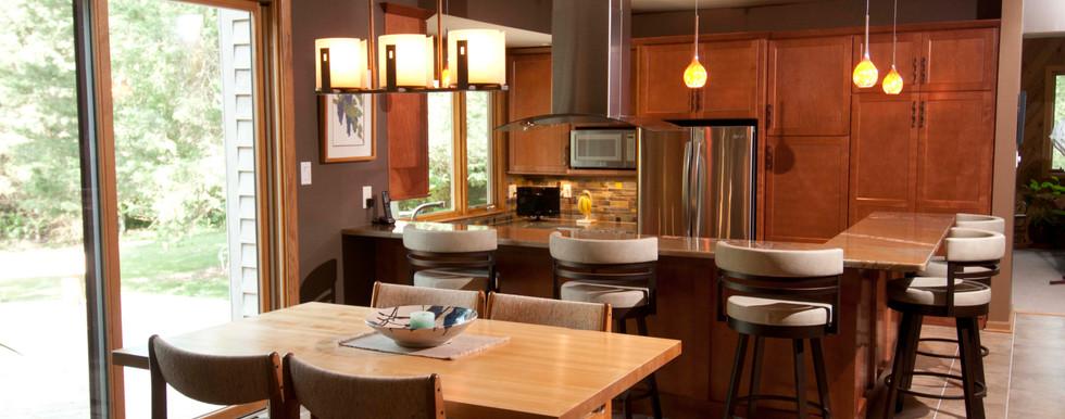 Oconomowoc Contemporary Kitchen - After