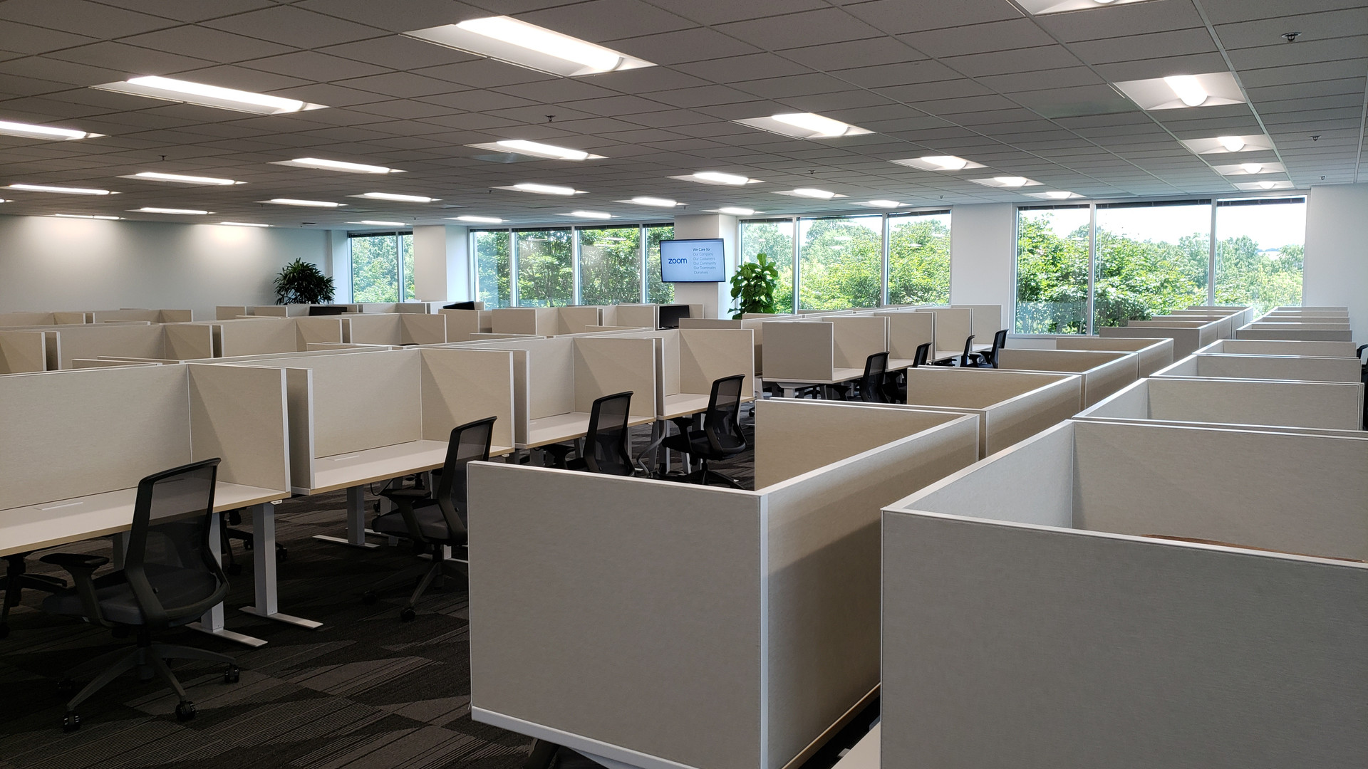 Office Desk Spread - Buildout Pros