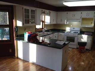 Waukesha Contemporary Kitchen - Before