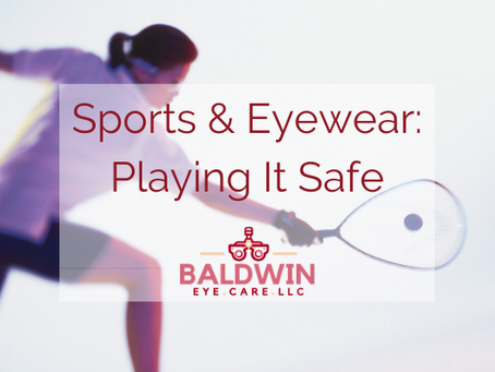 Sports & Eyewear: Playing It Safe