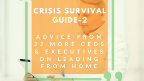 Copy of Crisis Survival Guide 2- Advice from 22 CEO's & Executives on Leading from Home
