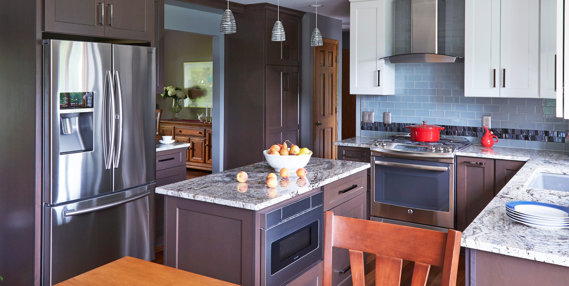 Hubertus Contemporary Kitchen - After