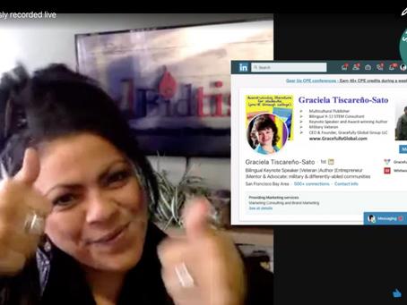 🎤 LIVE - Interview with Champions of Change: Women Veteran Leader Graciela Sato