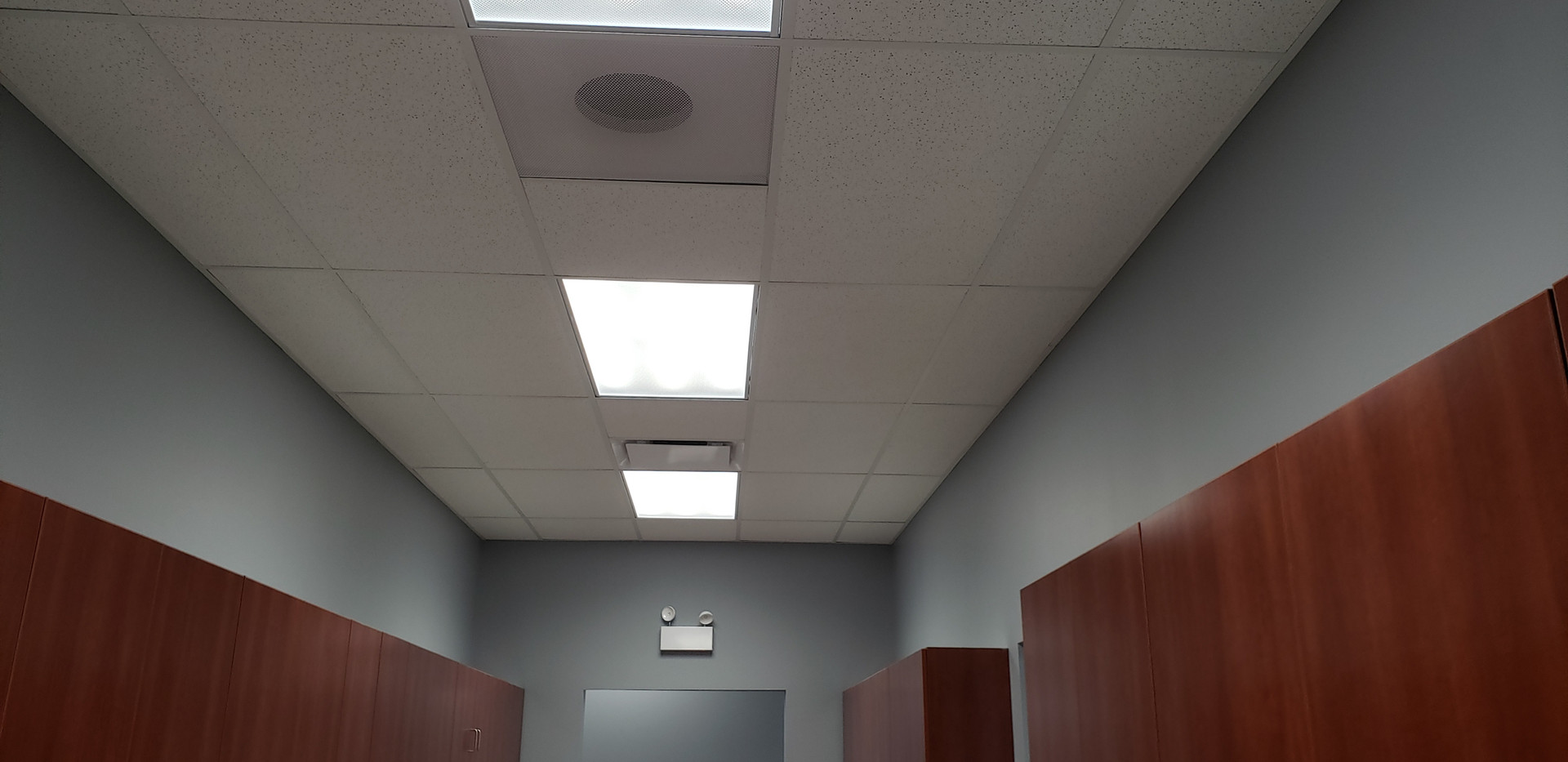 Ceiling & Lighting View - Buildout Pros