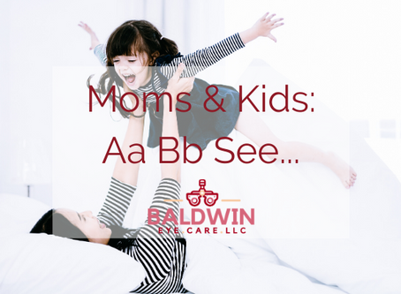Moms & Kids: Aa, Bb, See