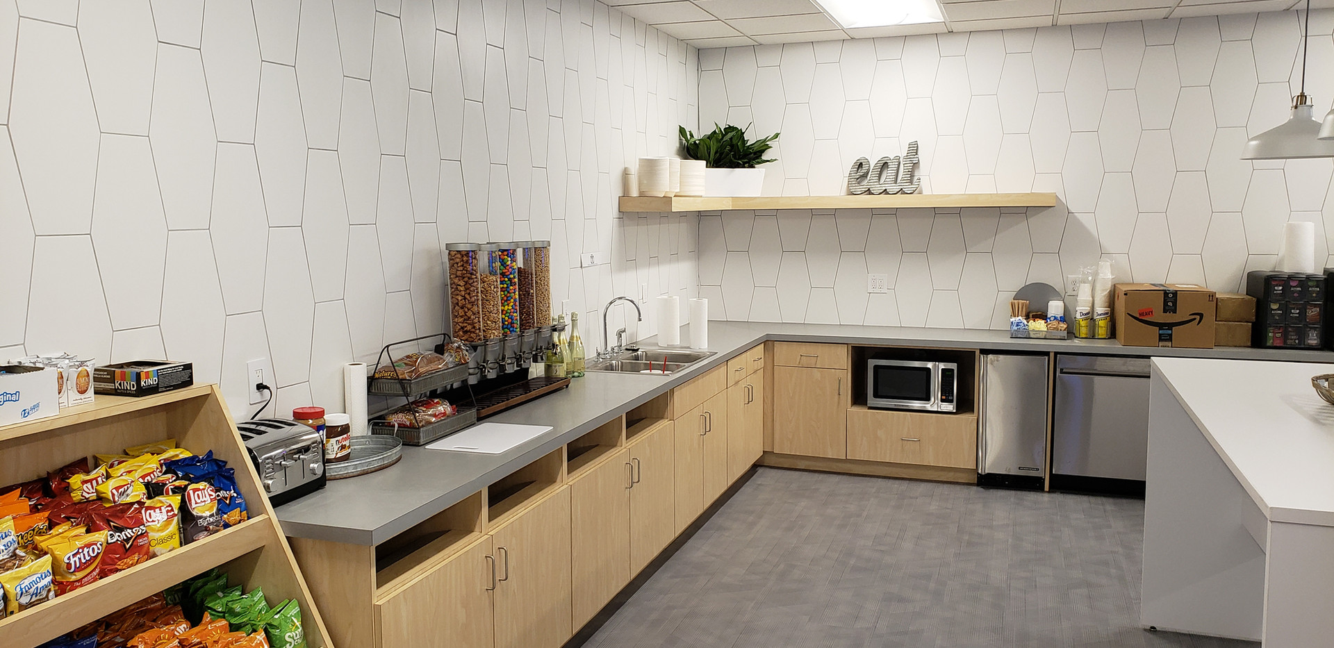 Office Kitchen - Buildout Pros
