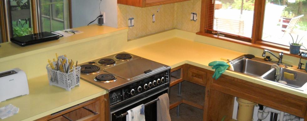 Oconomowoc Contemporary Kitchen - Before