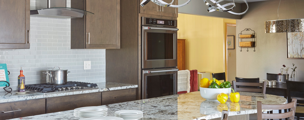 Greendale Contemporary Kitchen - After