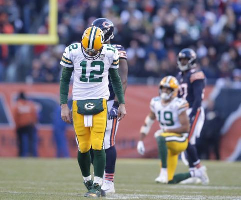Rodgers Frustrated