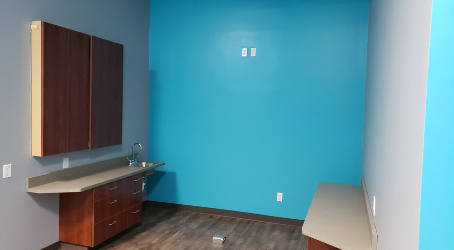 Open Dental Room (no chair)-Buildout Pros