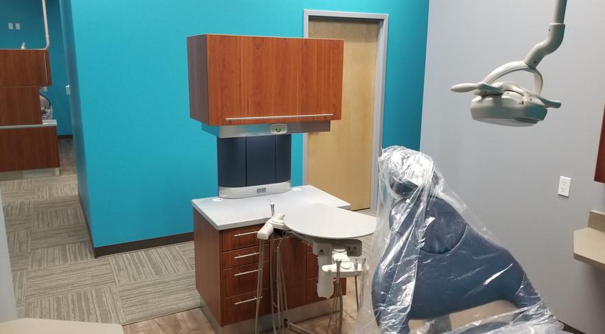 Side Veiw of Dental Room- Buildout Pros