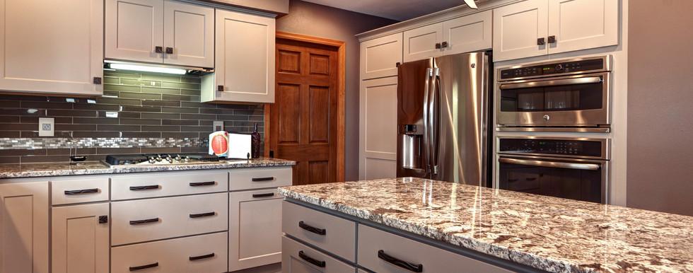 Waukesha Contemporary Kitchen - After