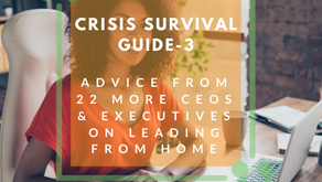 Copy of Crisis Survival Guide 3- Advice from 22 CEO's & Executives on Leading from Home