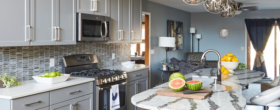 Oak Creek Transitional Kitchen - After