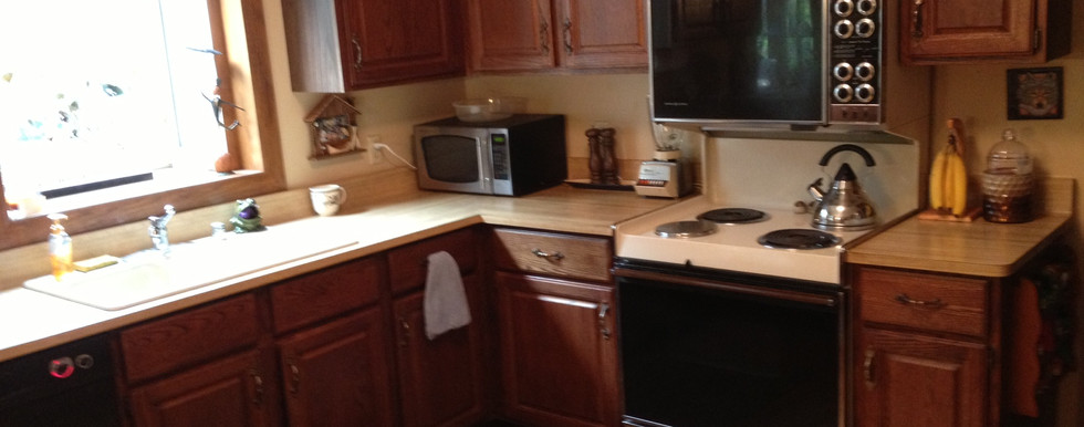 Brookfield Transitional Kitchen - Before