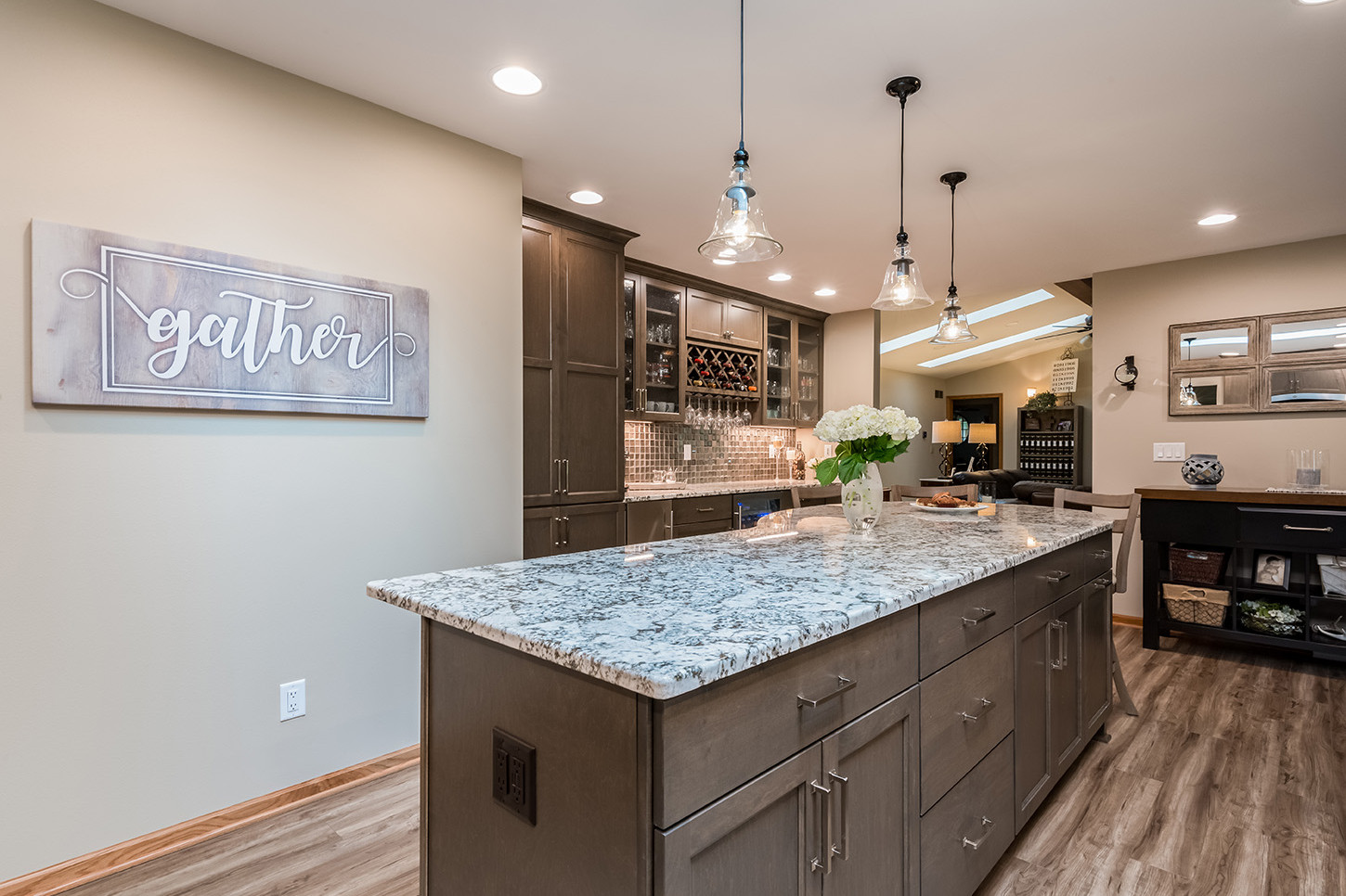 Brookfield Transitional Entertaining Kitchen - After