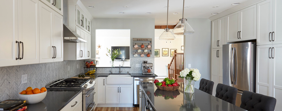 Mequon Farmhouse Kitchen - After