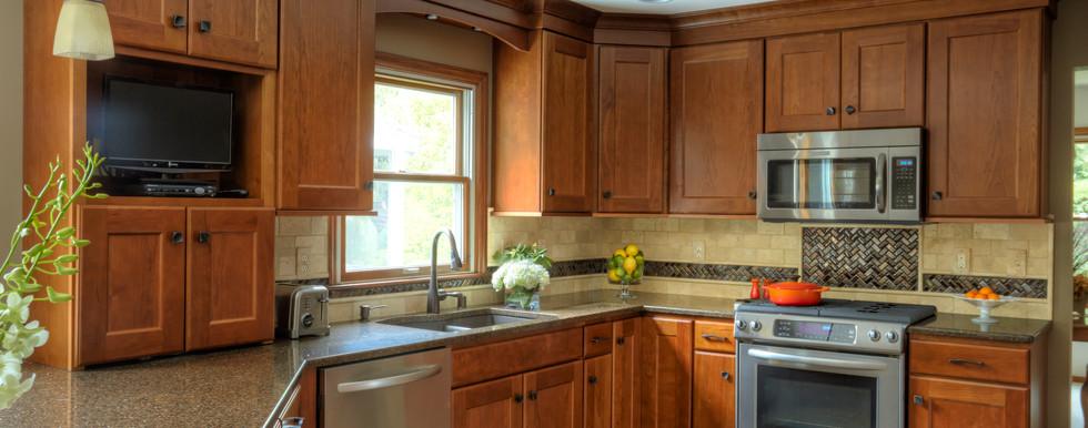 Hartford Traditional Kitchen - After