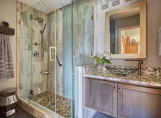 Glendale Contemporary Bathroom  Design T