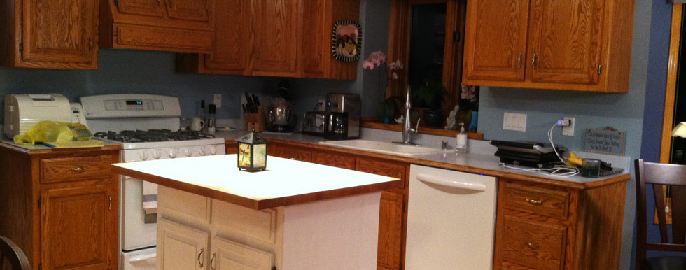 Hubertus Contemporary Kitchen - Before