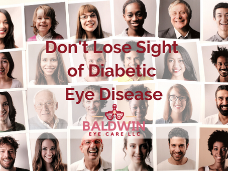 Don't Lose Sight of Diabetic Eye Disease