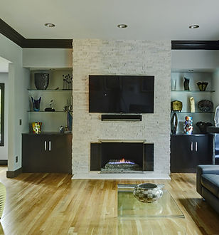 Living Room - Design Tech Remodeling