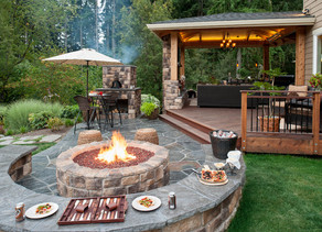 Your Living room just got a LOT bigger: Designing an Outdoor Living Space