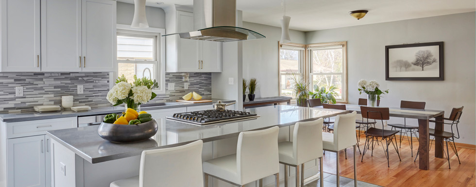 Shorewood Contemporary Kitchen - After