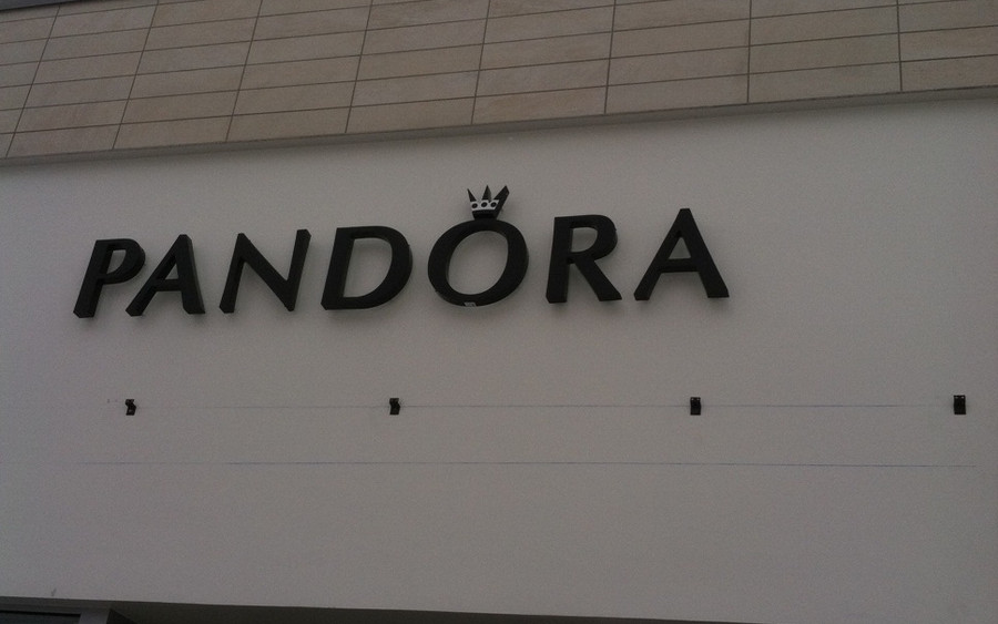 Pandora Store Sign - Buildout Pros