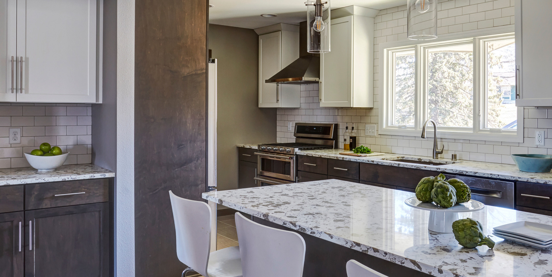 Brookfield Contemporary Kitchen - After