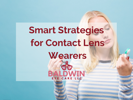 Smart Strategies for Contact Lens Wearers