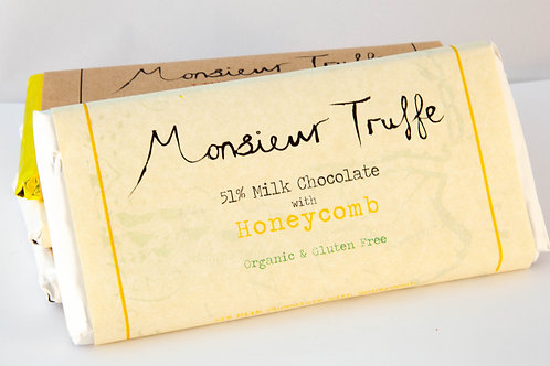 Monsieur Truffe - Milk Chocolate and Honeycomb