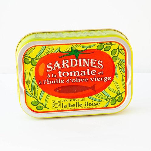 La belle-iloise Sardines olive & tomato