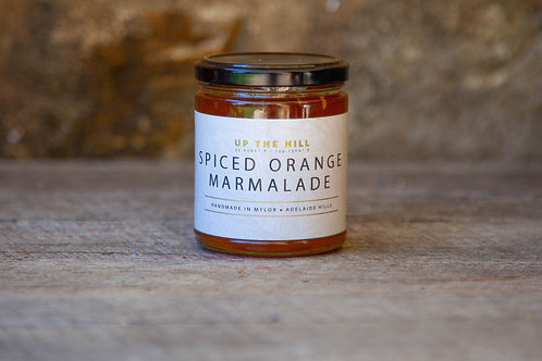 Up The Hill -Spiced Orange Marmalade 270ml