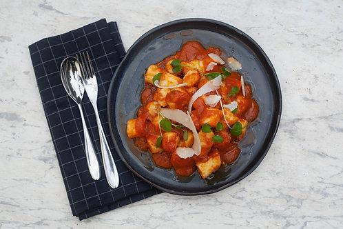Gnocchi in Tomato Sugo