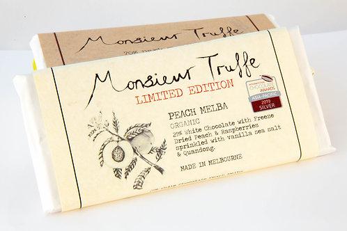 Monsieur Truffe - White Chocolate and Peach Melba