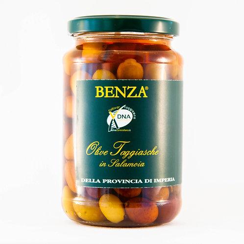 Ligurian Taggiasche Olives in Brine Benza 350g