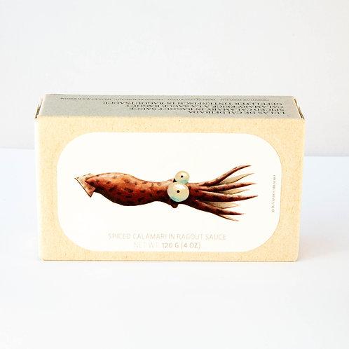 JOSE Spiced Calamari Ragu