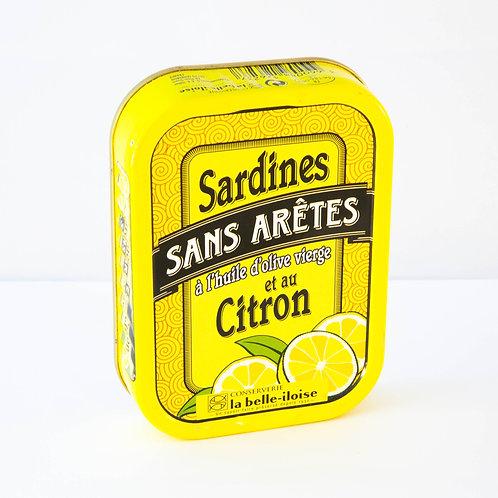 La belle-iloise Sardines et au Citron 115g
