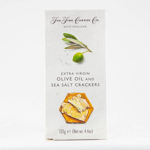 The Fine Cheese Co. Crackers - Olive Oil and Sea Salt 125g