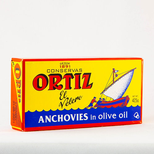 Ortiz Anchovy in Olive Oil 47.5g