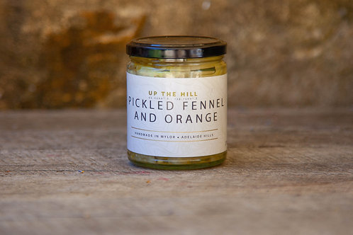 Up The Hill - Fennel & Citrus Pickle 270ml