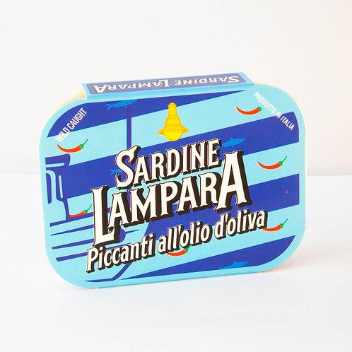 Lampara Sardines in Olive Oil 100g