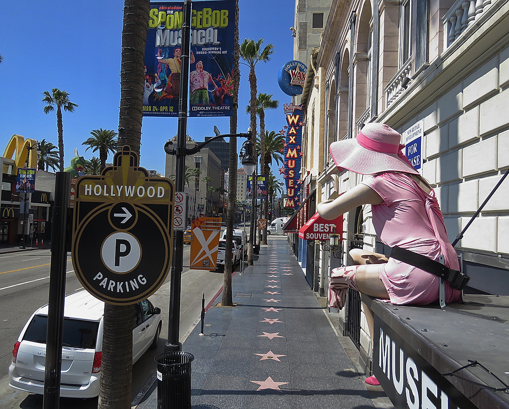 hollywood blvd covid-19 photo by brian donnelly