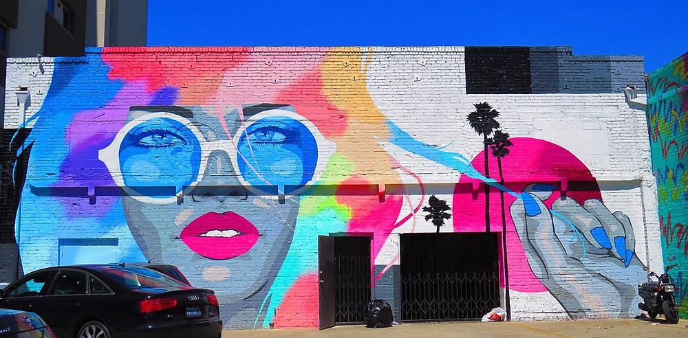 melrose street mural